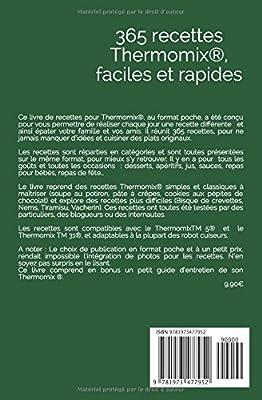 Thermomix ® : 365 recettes Thermomix faciles, rapides, pour toutes les occasions: Amazon.es: Collectif: Libros en idiomas extranjeros