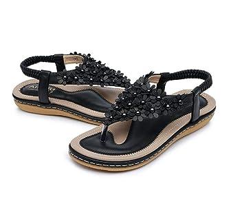 Mujer Sandalias Planas Planas Qimite Sandalias Qimite Zapatos pqSMVUzLG