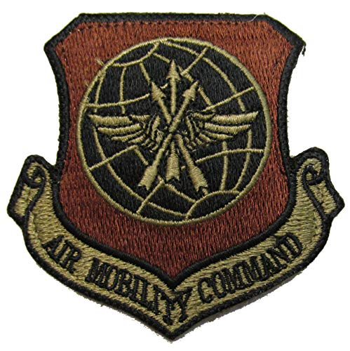 U.S. Air Force Air Mobility Command OCP Patch - Spice Brown ()