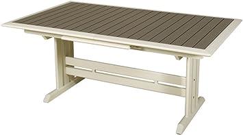 Table extensible hegoa ouverture automatique 150-200x90x75cm: Amazon ...