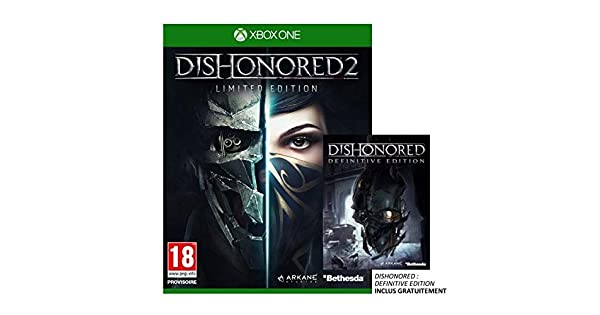 Dishonored 2 Limited Edition Jeu Xbox One: Amazon.es: Videojuegos
