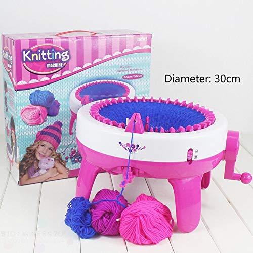 Children Girls Knitting Machine DIY Manual Hats Scarves Knitting Machine Toys