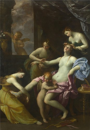 Oil Painting 'Studio Of Guido Reni The Toilet Of Venus', 24 x 35 inch / 61 x 88 cm , on High Definition HD canvas prints is for Gifts And - Sunglasses Guido