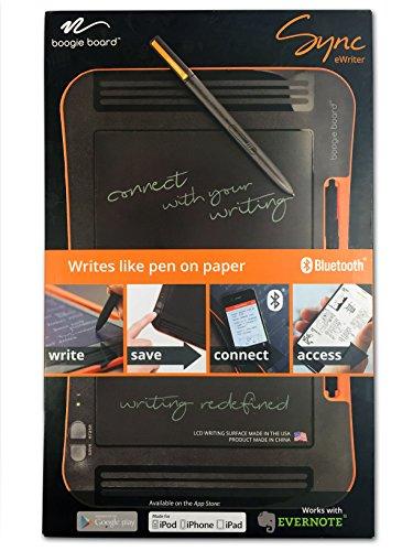 Boogie Board Sync 9.7-Inch LCD eWriter, Black/orange (ST1020001)