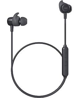 Aukey Latitude - Auriculares Bluetooth V4.1 con AptX, 3 modos de sonido EQ, cVc 6.0 dual-mic y 8 horas de reproducción, auriculares magnéticos deportivos para iPhone, iWatch, Android, Echo Dot y otros: