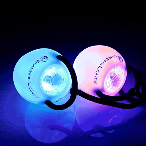 Led Poi Spin Lights Pair in US - 8