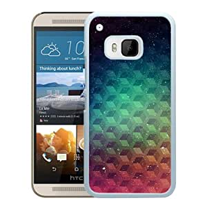 New Custom Designed Cover Case For HTC ONE M9 With Maxture Pattern Color Art Wallpaper (2) Phone Case