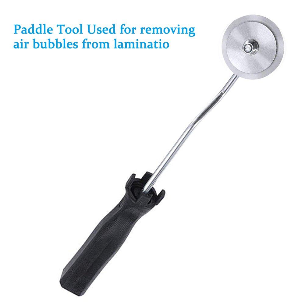 3 Piezas Fibra de Aluminio de Vidrio Laminado de Burbujas de Rodillos Kit de Herramientas para Molde de FRP