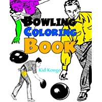 Bowling Coloring Book