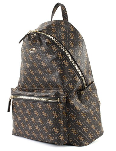 Brown Leeza Brown Backpack Leeza Backpack GUESS GUESS fwqfv61