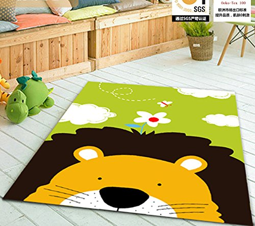 lovely lion children carpet kids