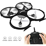 Soar Hawk WiFi FPV RC Quadcopter Drone with HD Camera RTF - VR Headset Compatible - Headless Mode, Low Voltage Alarm, Gravity Induction U818A