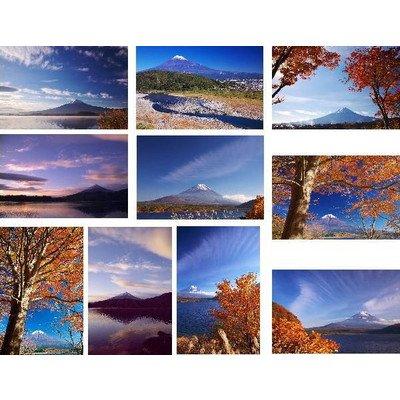 【ポストカードセット10枚】富士山のポストカード絵葉書(地名表記無し) ハガキphoto by絶景.com