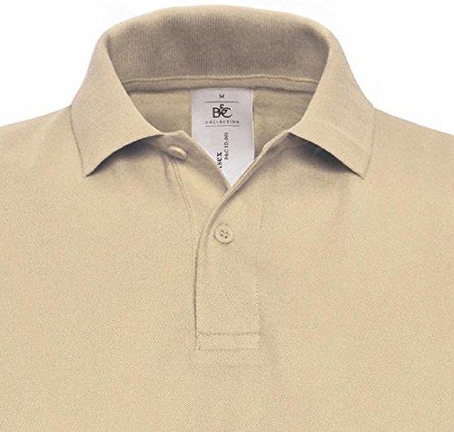 Herren Pique Polo Shirt B&C XXL