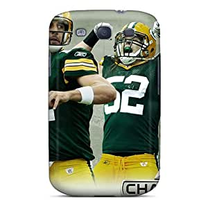 Defender Case With Nice Appearance (green Bay Packers) For Galaxy S3