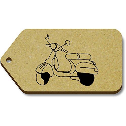 tg00060273 Etiquetas 34mm Azeeda X 'scooter' 66mm equipaje Regalo 10 qw41H8wT