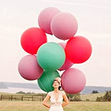 Giant Balloon 36 Inch Round Latex Big Balloon Large Balloons for Photo Shoot/Birthday/Wedding Party/Festival/Event/Carnival Decorations