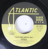 Genesis 45 RPM Your Own Special Way / Go West Young Man (In The Motherlode)
