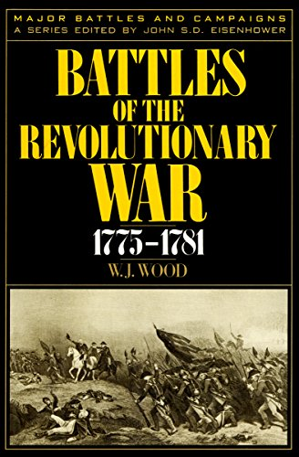 Battles of the Revolutionary War, 1775–1781 (Major Battles and (War Wood)