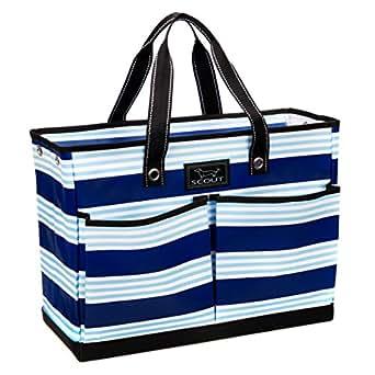 SCOUT The BJ Bag Large Tote Bag, Blue Line