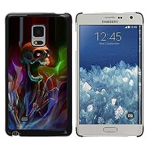iKiki Tech / Estuche rígido - Death Metal Rock Heavy Dark - Samsung Galaxy Mega 5.8 9150 9152