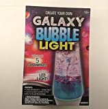 Create Your Own Galaxy Bubble Light! / DIY Lava Lamp / Conduct 5 Experiments! Includes LED light! Ages 12+