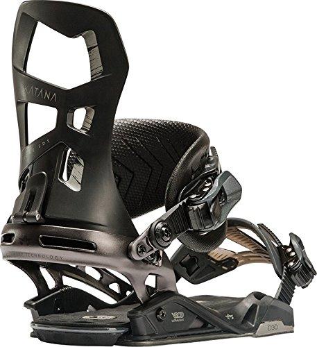 Rome Snowboards G1 Katana Snowboard Bindings, Black, Large/X-Large (Rome Katana Snowboard Bindings)