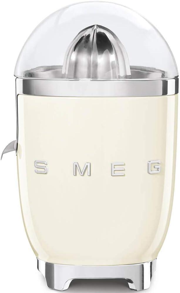 Smeg CJF01CRUS Citrus Juicer, One Size, Cream