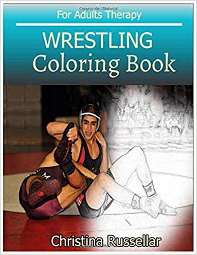 Amazon.com: WRESTLING Coloring Book For Adults Therapy ...