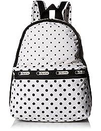 LeSportsac Basic Backpack, Sun/Multi/Cream, One Size