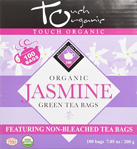 (Touch Organic China Organic Tea Cube, Jasmine Green Tea)