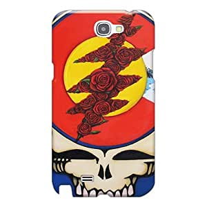Great Hard Phone Cases For Samsung Galaxy Note 2 (cld1212IYfS) Allow Personal Design Fashion Grateful Dead Band Image