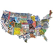 USA License Plates Jigsaw Puzzle – 1,000 Pieces