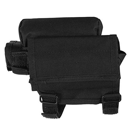 Adjustable Tactical Butt Stock Shotgun Cheek Rest Pouch Bullet Holder Bag by CLKJYF (Image #4)