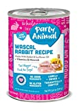 Party Animal DOG FOOD Pack of 12 13oz cans (WASCAL RABBIT) grain free Gluten free