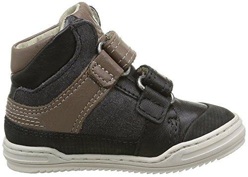 Kickers Jinjinu - Zapatos de primeros pasos Bebé-Niñas negro