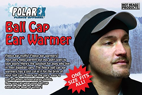 amazon ball cap ear warmer black one size sports outdoors baseball crochet pattern free knitting