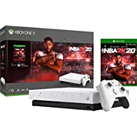 Xbox One X 1TB Console NBA 2K20 Special Edition Bundle White