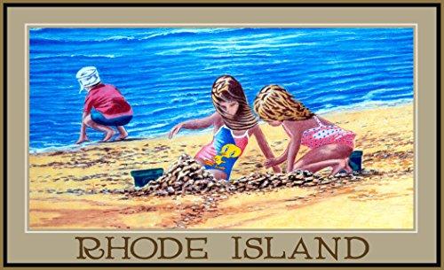 Northwest Art Mall DL-3630 KIS Rhode Island Kids In sand 11