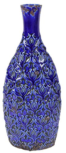 A&B Home Decorative Vase, 8.5 by 3.9 by 20.1-Inch