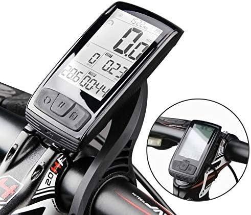 HJTLK Ordenador de Bicicleta, Bluetooth inalámbrico Caliente 4.0 Soporte de Montaje de computadora de Bicicleta Velocímetro de Bicicleta Sensor de Velocidad/cadencia Ciclismo Impermeable: Amazon.es: Hogar