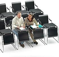 ofiprix (Seattable Silla Plegable, transformable en Mesa, Color ...