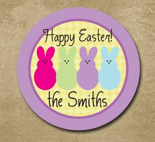(Bunny Plate for Easter Kids Easter Plate Custom Melamine Platter Dinnerware Holiday Plate for Kids)