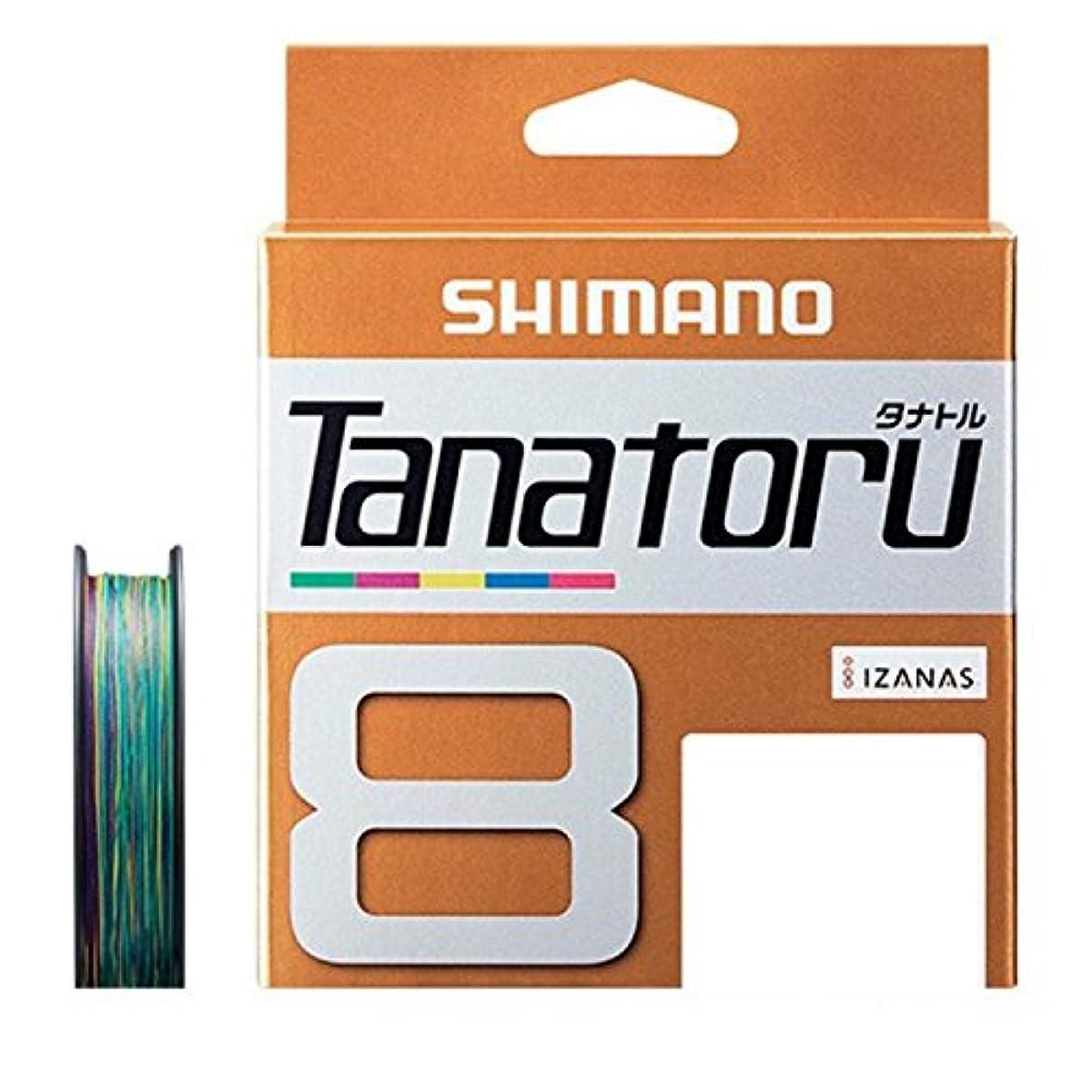 [해외] 시마노 PE라인 다나토루 8개 뜨기 300M 멀티 컬러 PL-F78R