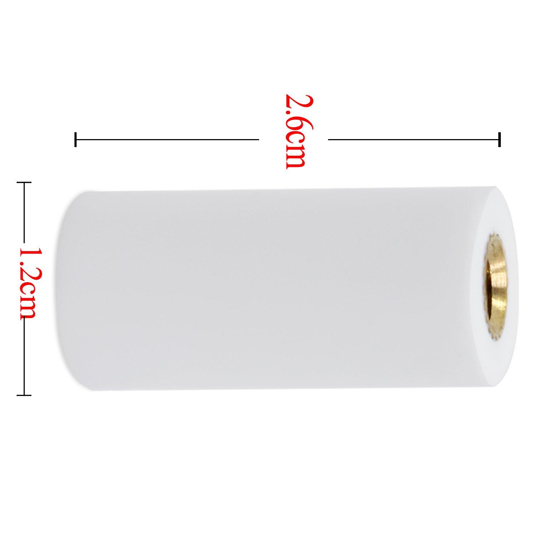 confezione da 10 KEESIN puntali punte per stecca da biliardo da 12 mm punta di ricambio per stecche da biliardo
