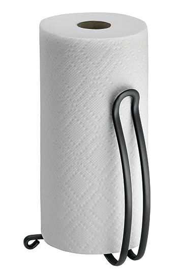 Halter für küchenrolle  mDesign Halter Küchenrolle stehend - Größe: 27,3 cm, Farbe ...
