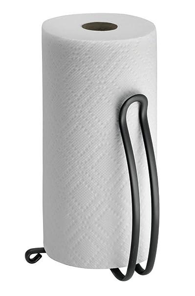 Mdesign Halter Küchenrolle Stehend - Größe: 27,3 Cm, Farbe