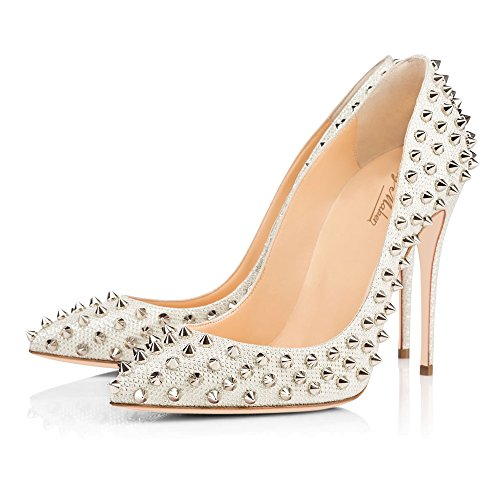 For Court Toe Sandals Heel Women Shoes Pumps Women's Party white Dress 3 Onlymaker Wedding Pointed High pv7FnwR