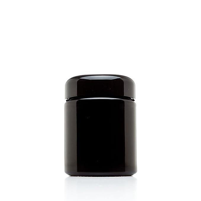 infinity tarros 50 ml (1.7 fl oz) altura negro ultravioleta cristal Screwtop Jar: Amazon.es: Hogar