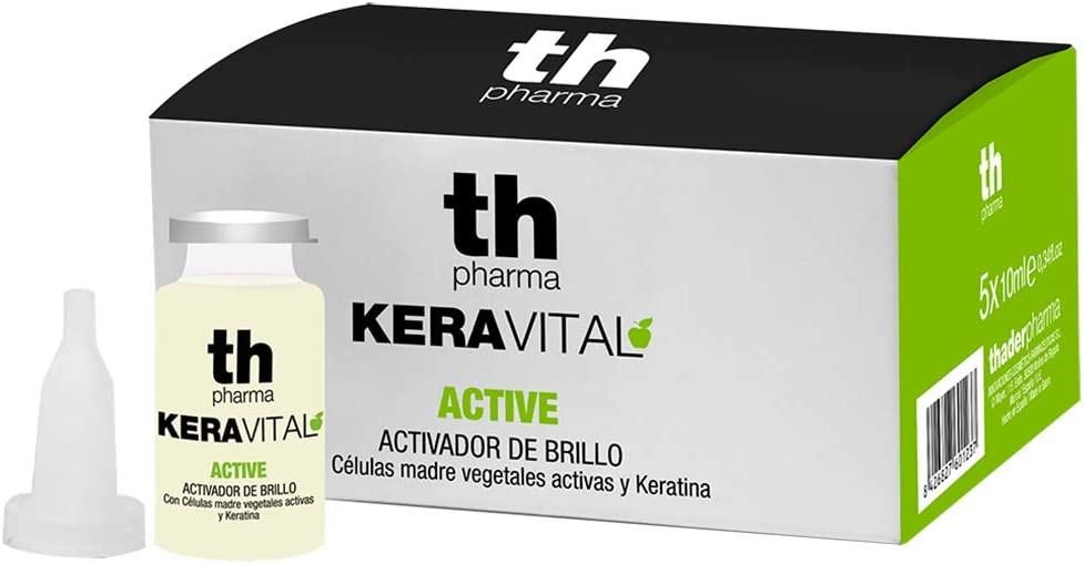 Thader Th Pharma - Keravital Tratamiento Active 5 x 10 ml